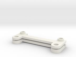 Stabilizer-rear in White Natural Versatile Plastic