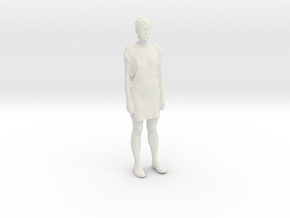 Printle C Femme 033 - 1/35 - wob in White Natural Versatile Plastic