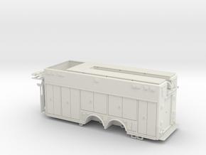 1/64 Hackney Heavy Rescue non rollup WSF in White Natural Versatile Plastic
