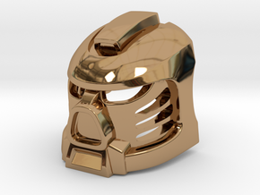 Tahu Prototype Mask in Polished Brass