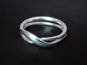 Eternity-ring in Polished Silver: 5.5 / 50.25