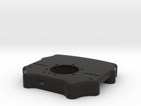 Button Enclosure - Style 2 - Mod 30, Mod 88, Sparc in Black Natural Versatile Plastic