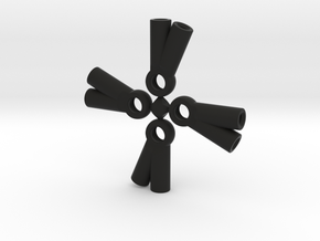 V-Ball Cups x4 in Black Natural Versatile Plastic