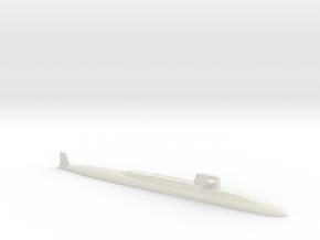USS Lafayette SSBN, 1/1200 in White Natural Versatile Plastic