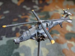 1/300 HAL Light Combat Helicopter in White Natural Versatile Plastic