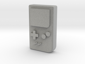 "1/10 SCALE ""GAME BOY""  in Metallic Plastic: 1:10"