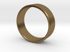 Simplicity in a Band in Natural Bronze: 8 / 56.75