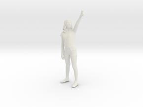 Printle C Femme 040 - 1/56 - wob in White Natural Versatile Plastic