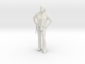 Printle C Femme 042 - 1/32 - wob in White Natural Versatile Plastic