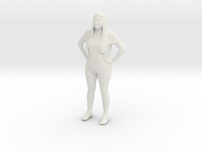 Printle C Femme 043 - 1/35 - wob in White Natural Versatile Plastic