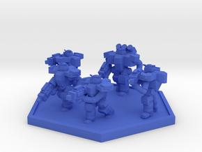 Colour Rim Bastion PA Trooper Squad in Blue Processed Versatile Plastic