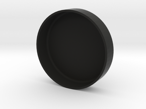 Brake Resevoir Cap Cover - Blank in Black Strong & Flexible