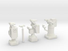 1/32 DKM Observation Set in White Natural Versatile Plastic