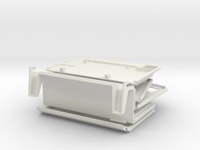 Apple Lisa 1 Raspberry Pi Case in White Natural Versatile Plastic