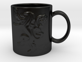 Lannister Mug in Matte Black Porcelain