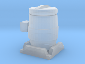 1/64 Inoculant Tank in Smooth Fine Detail Plastic