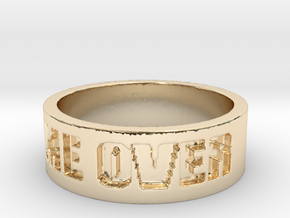 Game Over Ring in 14K Yellow Gold: 13 / 69