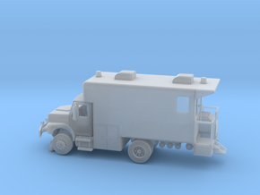 MOW Rail Detection Truck 1-87 HO Scale in Smooth Fine Detail Plastic