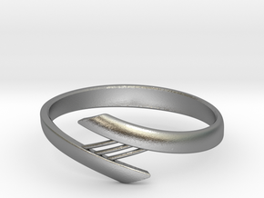 Bridge Bracelet in Natural Silver: Small