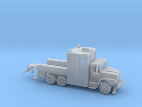 MOW Rail Truck 1-87 HO Scale in Smooth Fine Detail Plastic