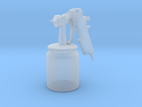Spray Gun - 1/10 in Smooth Fine Detail Plastic