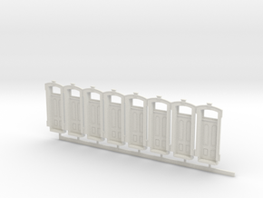WCK 4ft 3in Wide Door X 8 in White Natural Versatile Plastic
