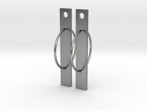 Bar None in Natural Silver (Interlocking Parts)