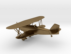Curtiss P-6 Hawk biplane in Natural Bronze: 1:96