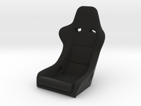 Race Seat RType 5 - 1/10 in Black Natural Versatile Plastic