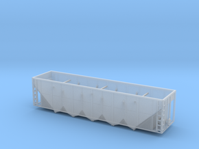 BNSF RD4 Hopper - Zscale in Smooth Fine Detail Plastic