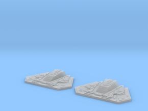 YT1300 MPC CANNONS YOKE SUPPORT SET in Smooth Fine Detail Plastic
