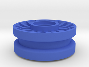 Wheel #1 for 4.8mm pin in Blue Processed Versatile Plastic