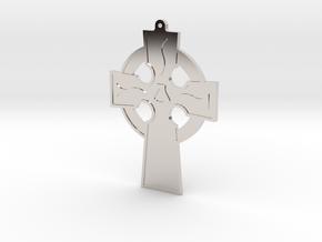 CCA Cross Collection - Model DE in Rhodium Plated Brass