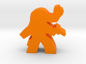 Game Piece, Slug Head Alien Outlaw in Orange Processed Versatile Plastic