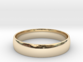 Customizable Ring in 14k Gold Plated Brass: 9 / 59
