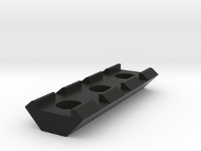 21mm Rail 55mm in Black Natural Versatile Plastic