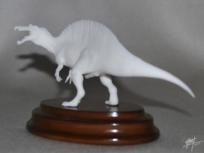 Spinosaurus 1/72 Roaring in White Natural Versatile Plastic