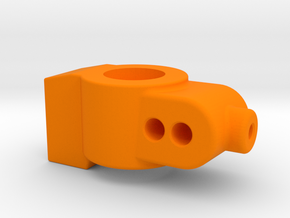 3 DEGREE - CUSTOM WORKS DO REAR HUB CARRIER in Orange Processed Versatile Plastic
