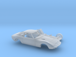 1/87 1968-73 Opel GT Two Piece Kit in Smooth Fine Detail Plastic