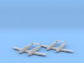 Messerschmitt Bf-109 Z 'Zwilling' x2 1:200 FUD in Smooth Fine Detail Plastic: 1:200