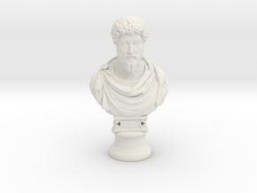 Marcus Aurelius 12 inches in White Strong & Flexible