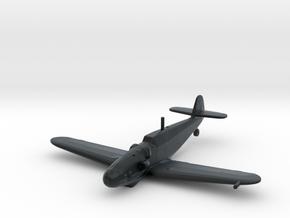 Messerschmitt Bf-109 G-6 'Gustav' (Late) in Black Hi-Def Acrylate: 1:200