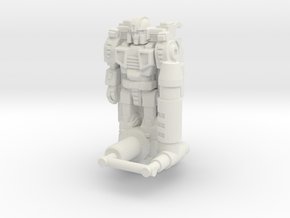 Tyr Gaus Transforming Weaponoid Kit (5mm) in White Strong & Flexible