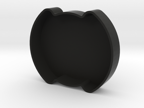 Mustang Oil Cap Cover - SVT in Black Natural Versatile Plastic