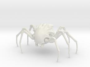 Enslaver Spider in White Natural Versatile Plastic