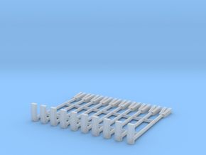 1/64 scale halligan bars in Smooth Fine Detail Plastic