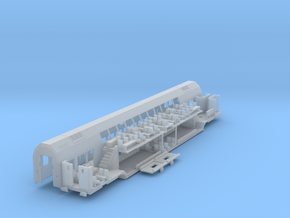 Mittelwagen Tief Bausatz (repariert) in Smooth Fine Detail Plastic