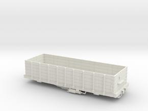 Hopper Buffalo Rochester & Pittsburg S Scale 1/64  in White Natural Versatile Plastic