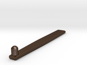 Ham Key Lock in Polished Bronze Steel