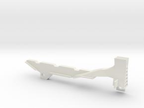 Longshot Tactical Sight 1 in White Natural Versatile Plastic